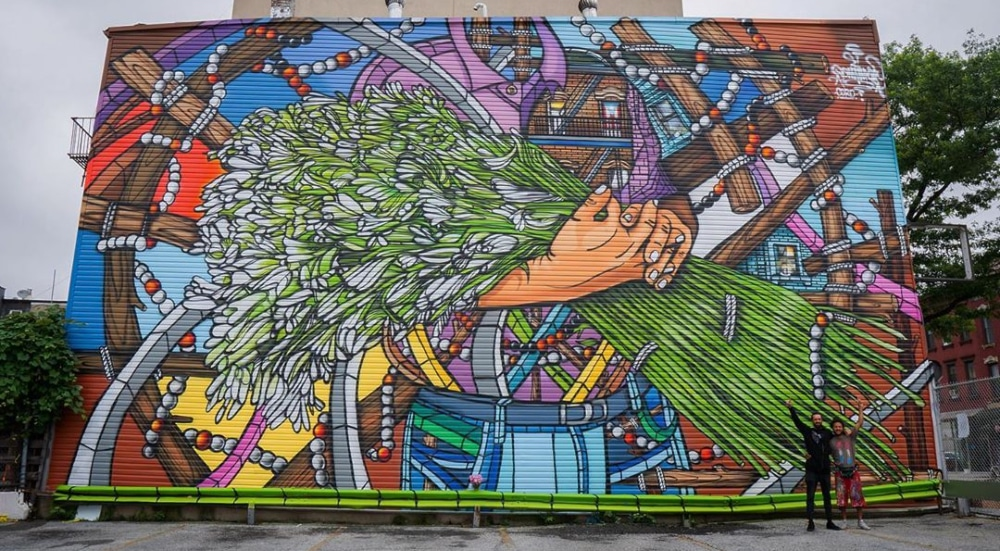 Check Out The New Brooklyn Mural Paying Homage To Puerto Ricans In NYC