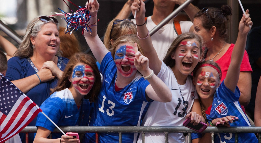 To Celebrate U.S. Women's World Cup Win, NYC Will Host A Ticker Tape Parade This Week