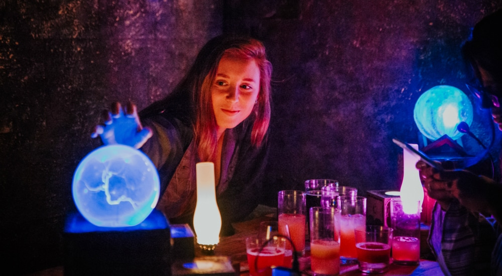 Brew Your Own Cocktail Elixirs At This Fantasy-Themed Bar In NYC
