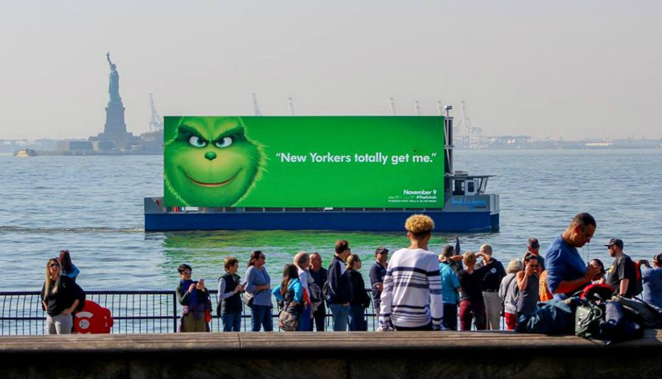 Floating Digital Billboards Are Now Banned From New York Waterways