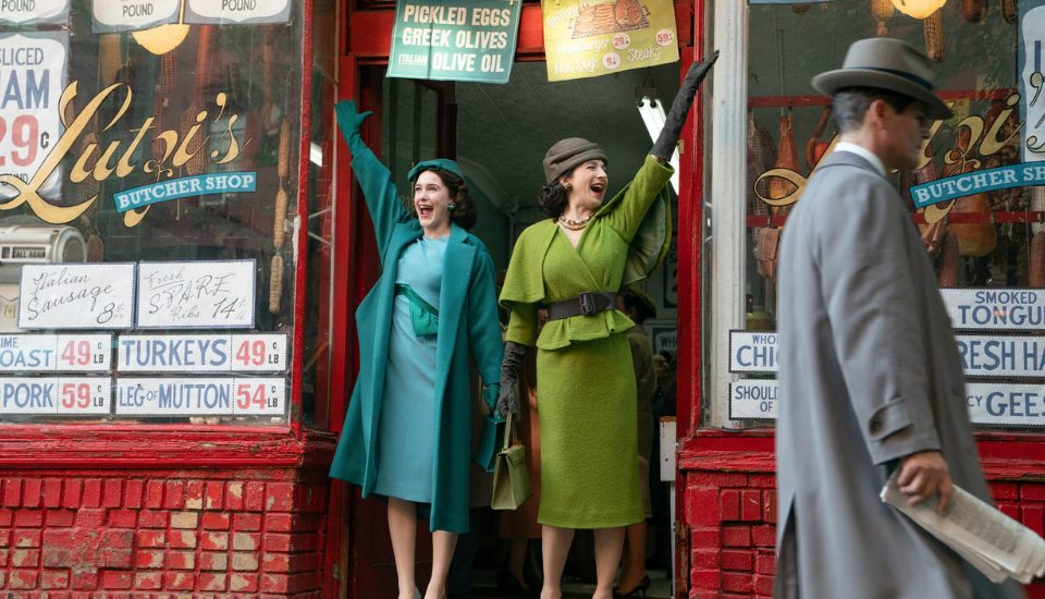 There's A 'Marvelous Mrs. Maisel' Exhibit Open Now In NYC