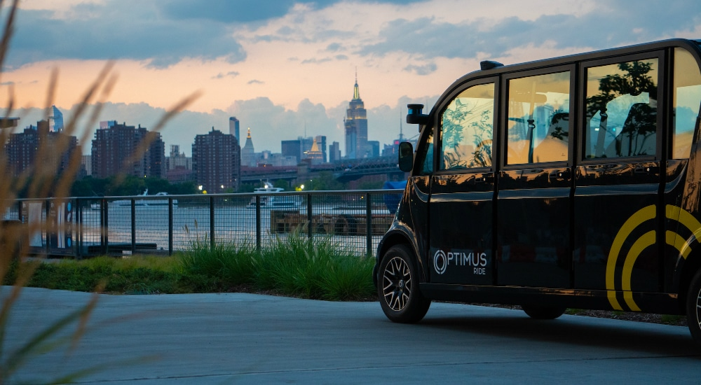 New York State's First Commercial Self-Driving Cars Debut Today In Brooklyn Navy Yard