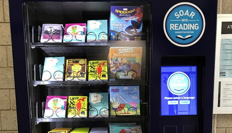 Free Book Vending Machines Are Coming To All Five Boroughs Of NYC