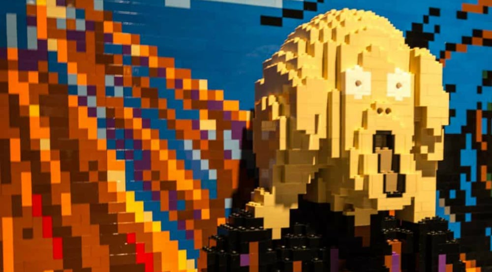 The World's Largest Lego Art Display Is Now Open In NYC