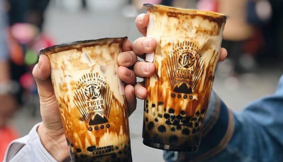 Popular Taiwanese Brown Sugar Boba Tea Shop, Tiger Sugar, Opens In Chinatown