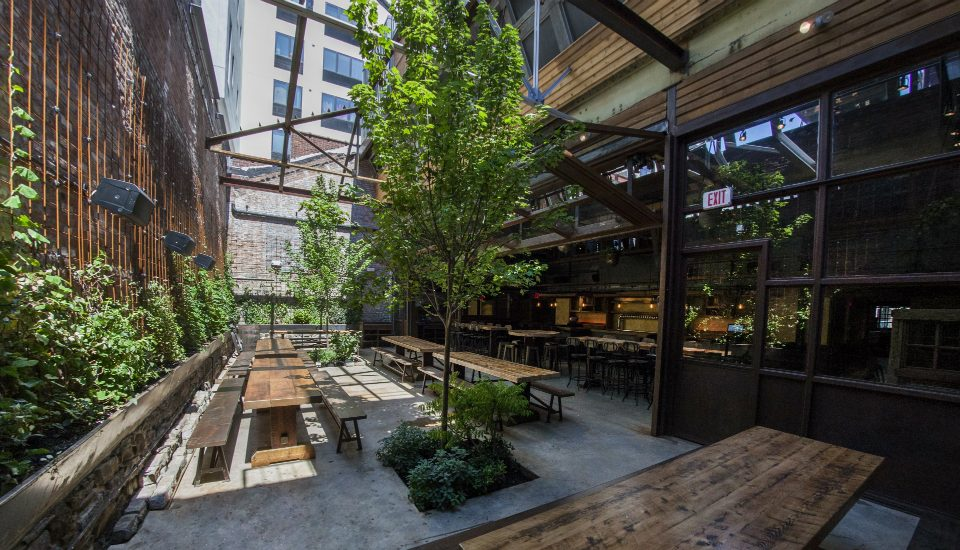A Massive Three-Story Wine Bar And Beer Garden Opens In Williamsburg