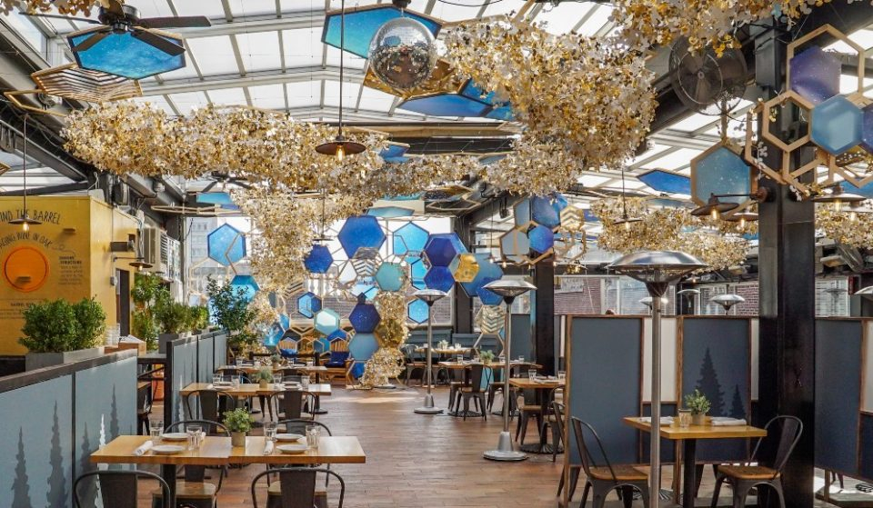 Eataly's Rooftop Has Transformed Into A Wonderful Woodland Oasis
