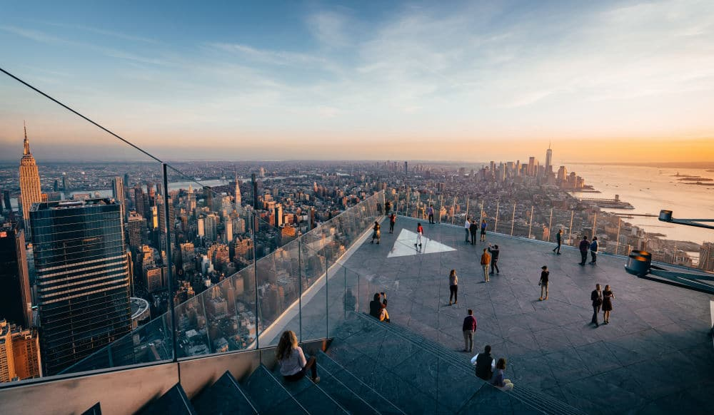 The Highest Observation Deck In The Western Hemisphere Finally Reopens In NYC This Wednesday