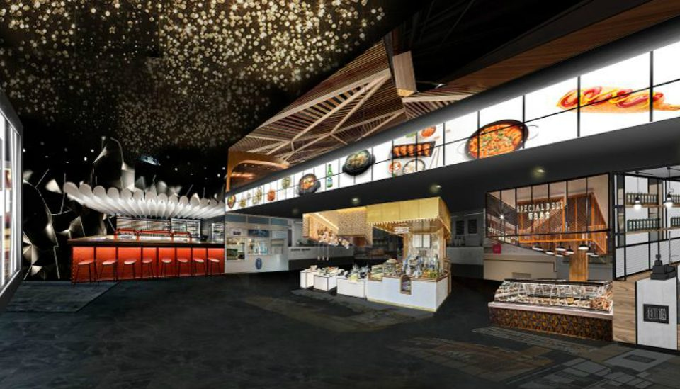 There's A Massive Three-Story Korean Food Hall Coming To Midtown This Summer