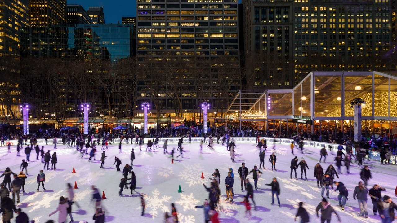 Bryant Park Christmas Village 2020 Bryant Park's Winter Village Officially Opens For The Season This
