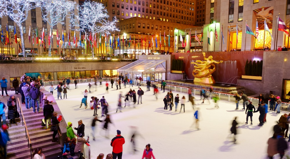 9 Must-Visit Ice Rinks In NYC That'll Put You In The Holiday Spirit