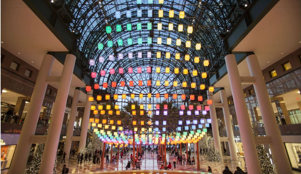 Make A Wish Under A Glowing Canopy Of Colorful Lanterns At Brookfield Place
