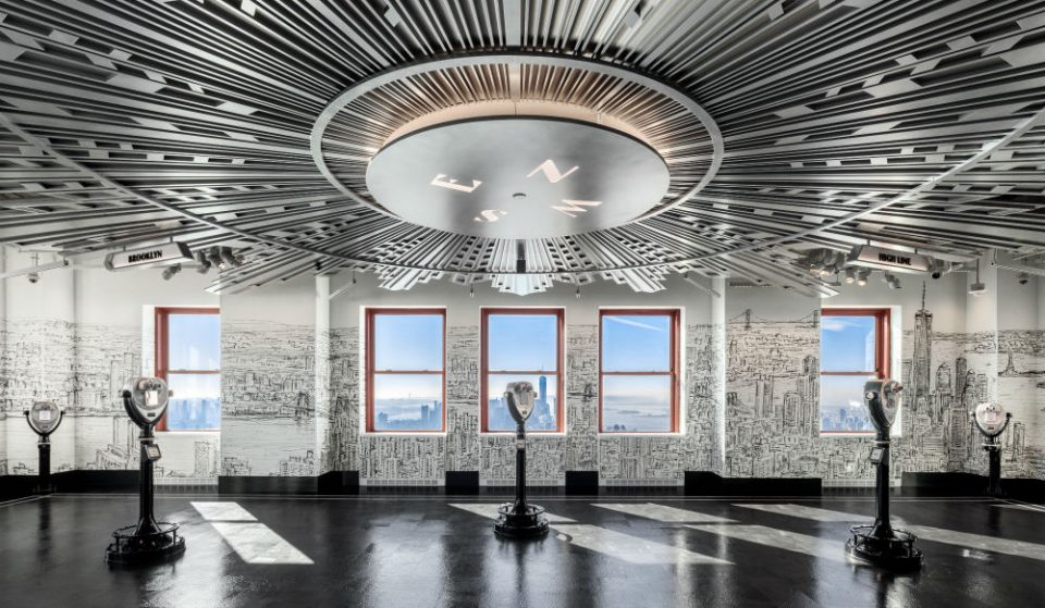 Take A Peek Through Augmented Reality Binoculars On Empire State Building's Brand New 80th Floor