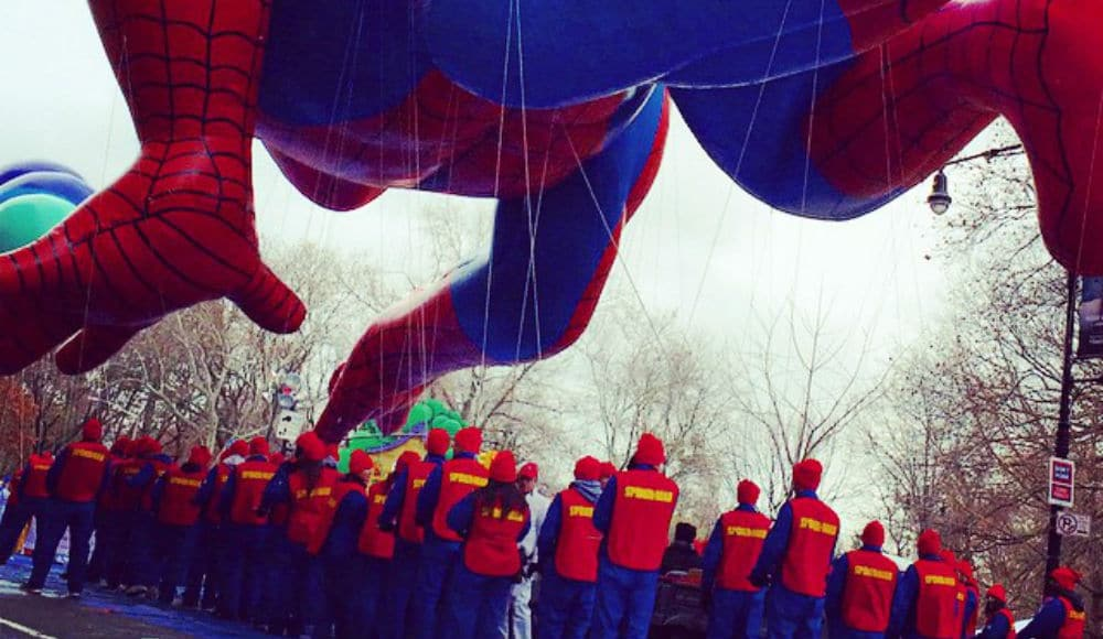 Go Behind The Scenes Of Thanksgiving Day Parade At UWS Balloon Inflation