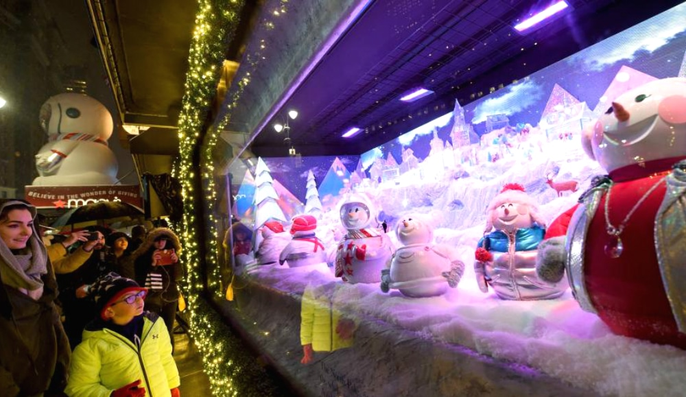 Macy's Herald Square Unveils Their Magical Holiday Windows Today