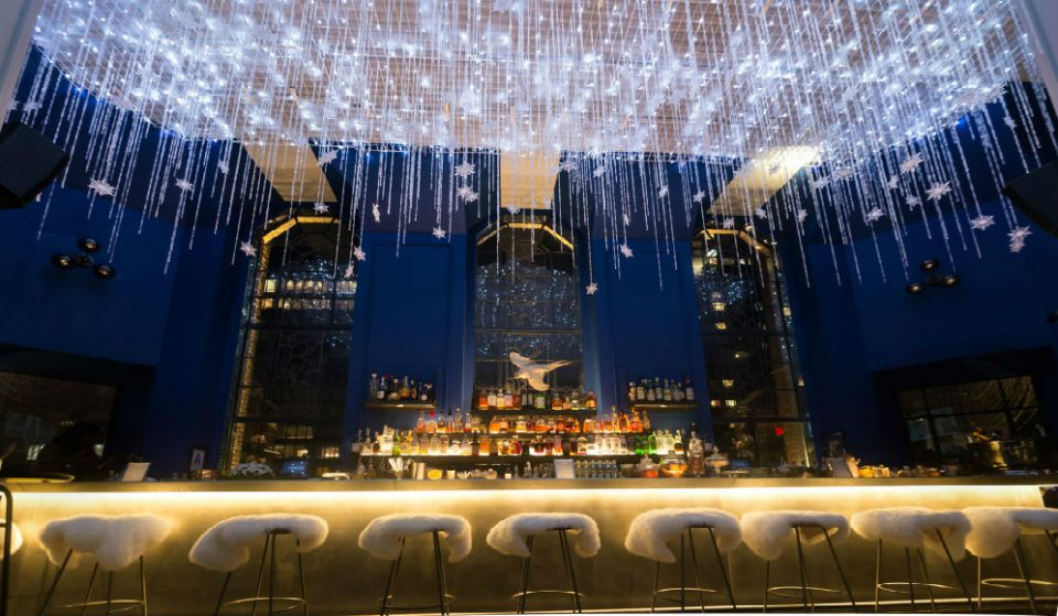 Visit A Stunning Snow Globe In The Sky At Ophelia In Midtown East