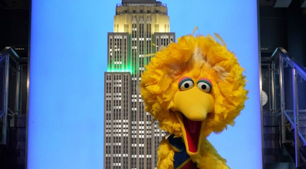 The Empire State Building Honors Sesame Street's 50th Anniversary This Weekend