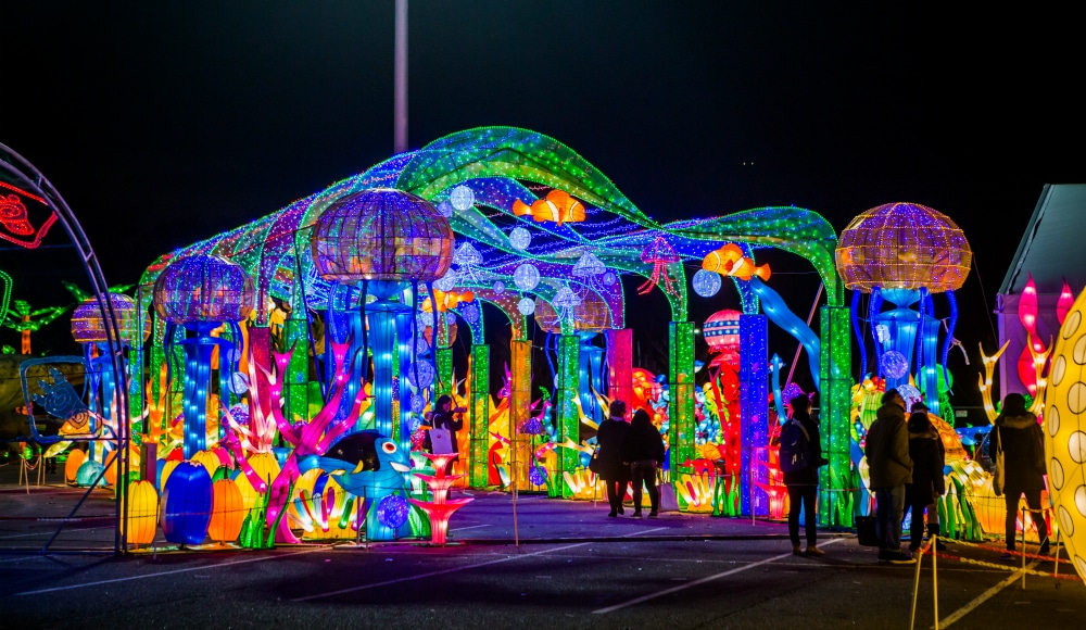 North America's Largest Winter Lantern Festival Is Now Open In NYC!