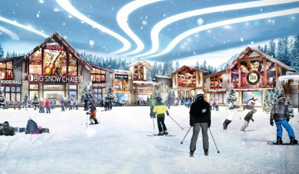 16-Story Indoor Ski Slope Reopens With Real Snow In NJ's 'American Dream' Mega-Mall