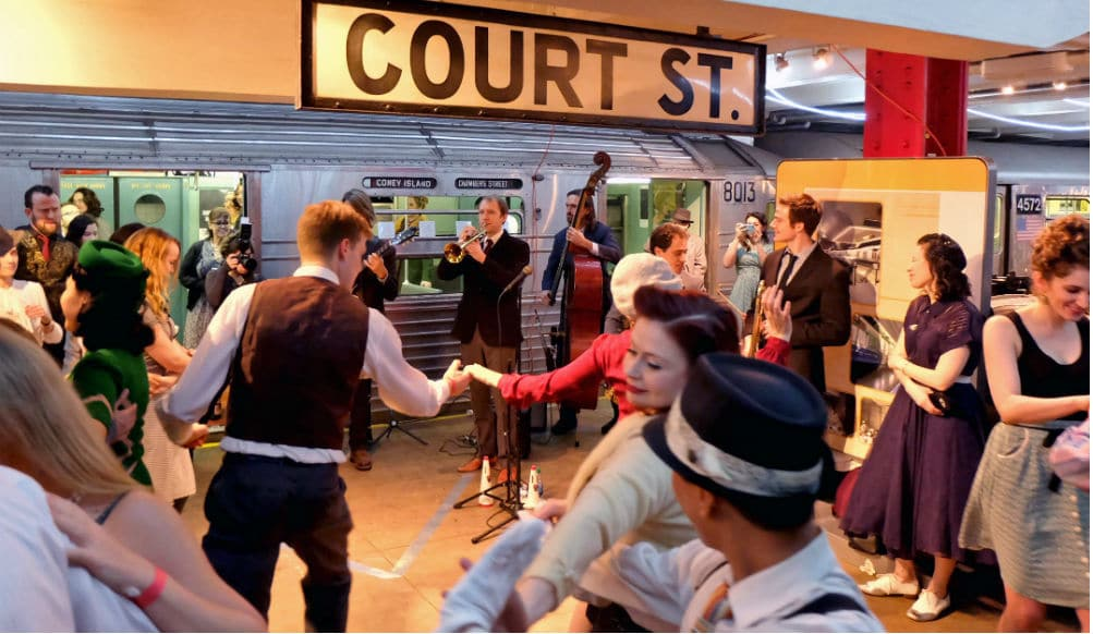 Party Like It's The 1940s At This Fabulously Vintage 'Subway Swing' Holiday Event