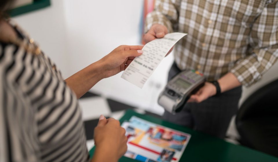 NYC Is Now Considering A Ban On Paper Receipts