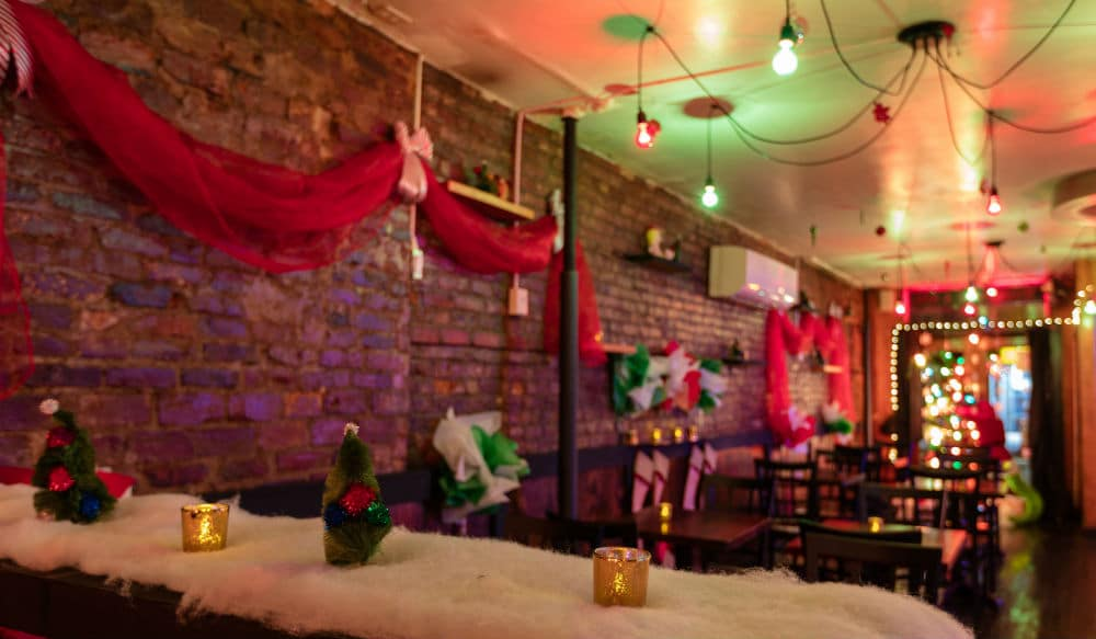 Travel To 'Whoville' At This Festive East Village Bar • East Village Tavern