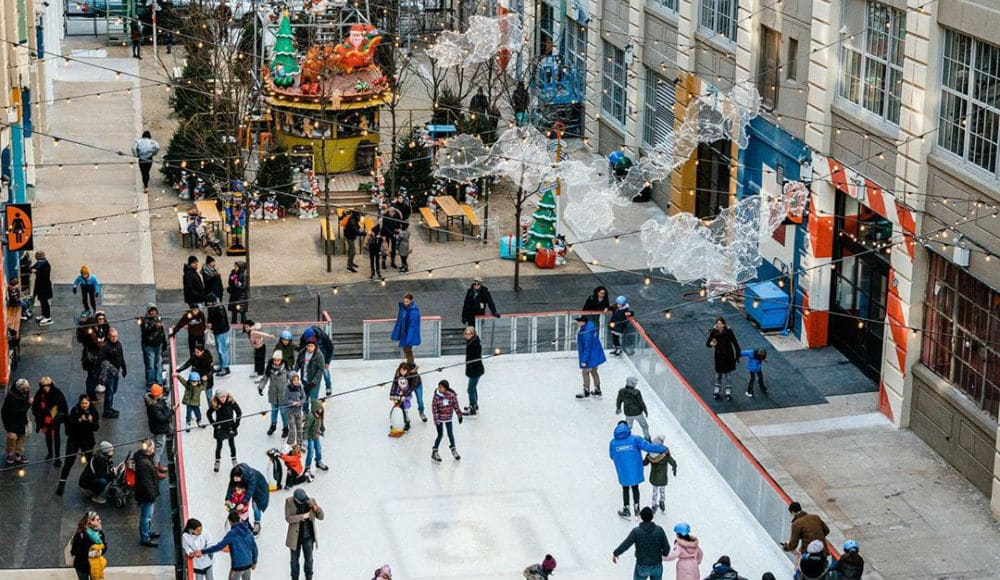 Industry City's Brand New Brooklyn Ice Rink Will Have Themed Skating Nights