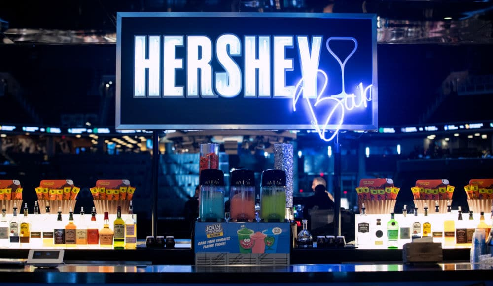 You Can Get Chocolate Martinis & Jolly Rancher Slushies At The New Hershey Bar In Barclays