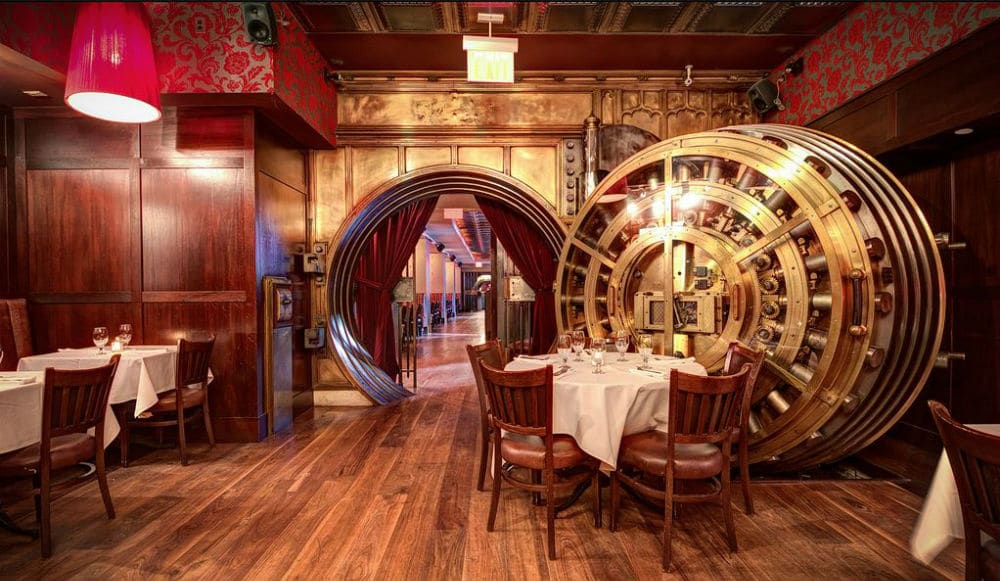 You Can Sip Cocktails Inside A 1904 Bank Vault At This FiDi Restaurant • Trinity Place