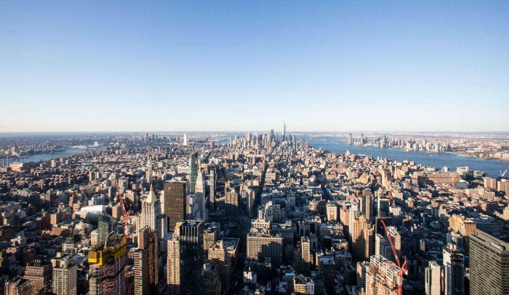 The Empire State Building's 86th Floor Outdoor Observation Deck Is Now Heated