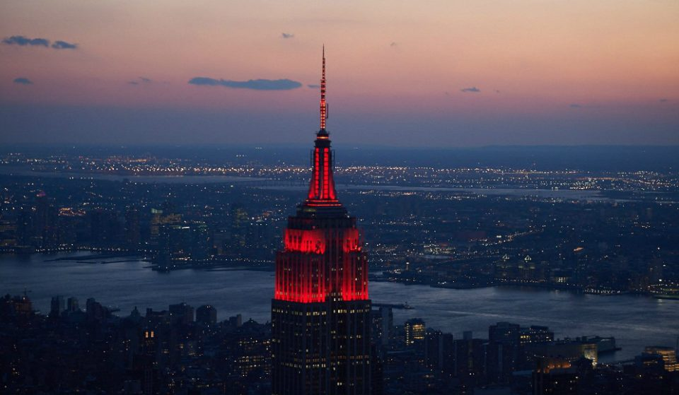 Empire State Building Will Glow Red Tonight In Celebration Of Lunar New Year