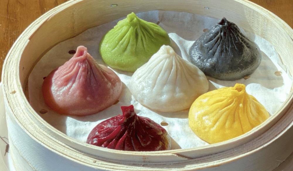 This Queens Restaurant Serves Delicious Multi-Colored Soup Dumplings • Nan Xiang Xiao Long Bao