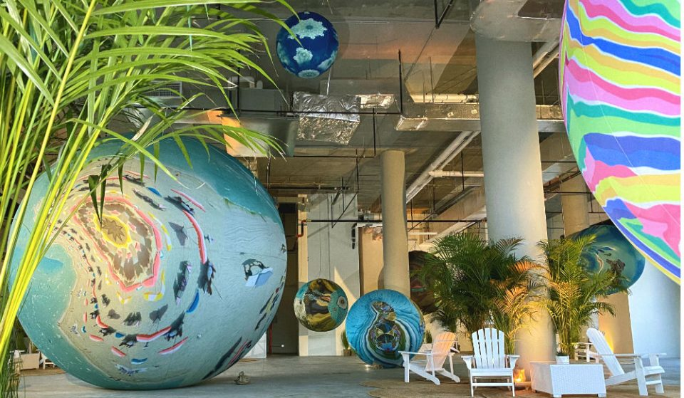 You Can Stroll Through Giant Colorful Planets At This Dreamy New Brooklyn Art Installation