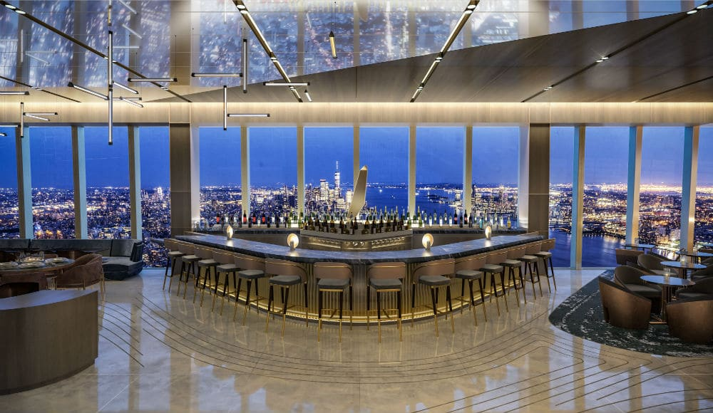 Hudson Yards Restaurant With Stunning 360° Views Of Manhattan Has Reopened