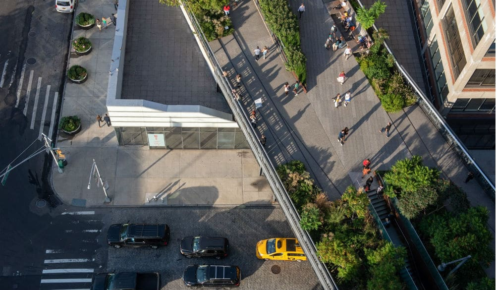 A Massive Concrete Wall May Be Built Next To The High Line That Would Block Eastern Views
