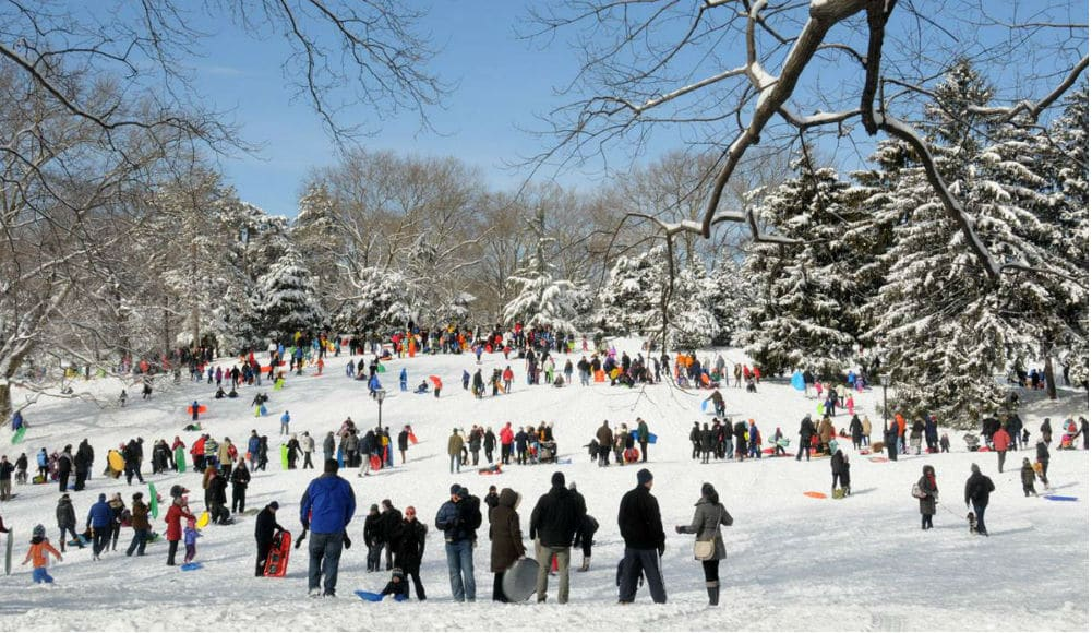 You Can Learn To Ski Right Here In NYC At This Upcoming Winter Festival