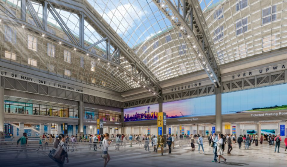 Penn Station Will Get 8 New Tracks, And Serve An Additional 175K Daily Riders