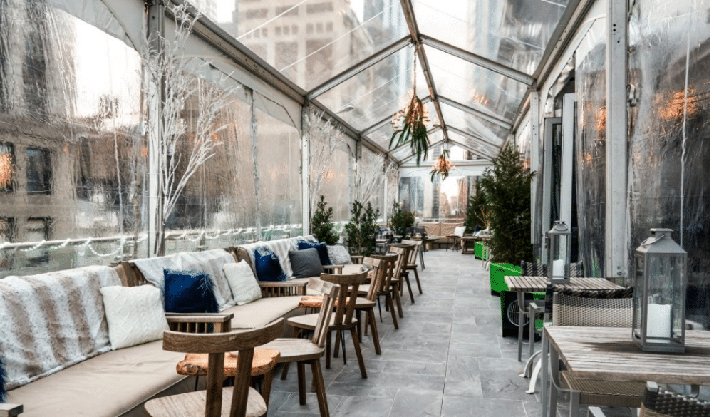 This New Alpine Ski Rooftop Pop-Up Will Cure All Of Your Post-Holiday Blues