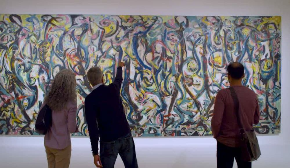 Famous Jackson Pollock 'Mural' Is Now On View At The Guggenheim