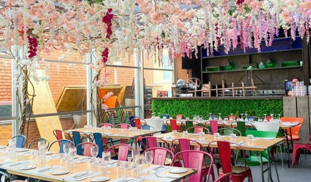 Spring Came Early At This Gorgeous Hell's Kitchen Rooftop • Cantina Rooftop