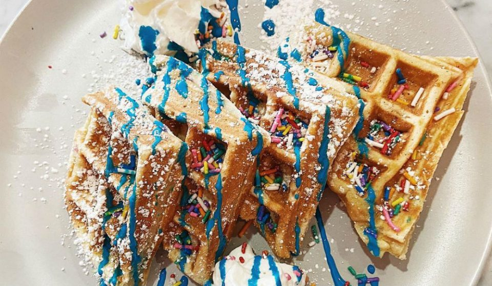 This Colorful New Café Devoted To Waffles Is Only A Short Train Ride From NYC