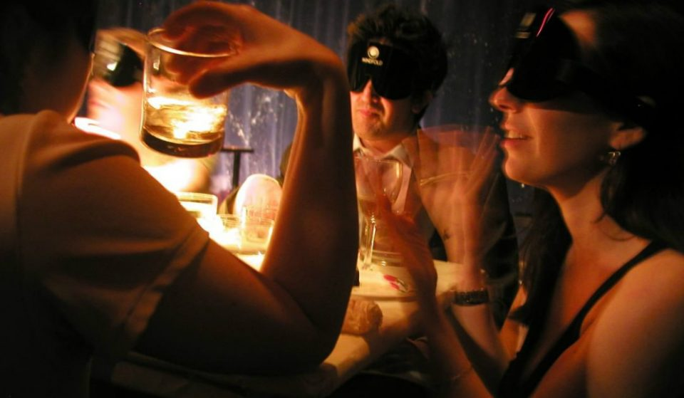 This Multi-Sensory 'Dinner In The Dark' Experience Is The Only One In NYC
