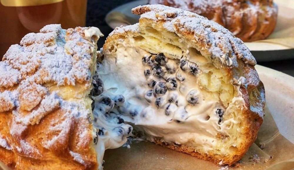 Massive Boba-Filled Cream Puffs Steal The Show At This Cozy Chinatown Tea Shop