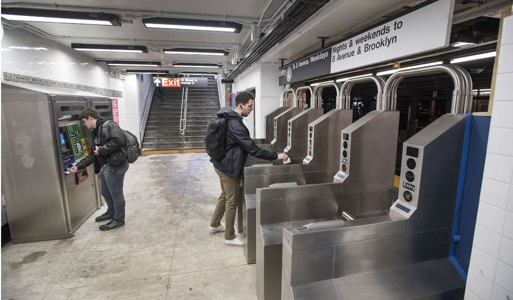 Both New L Train Entrances On Ave A Are Finally Open