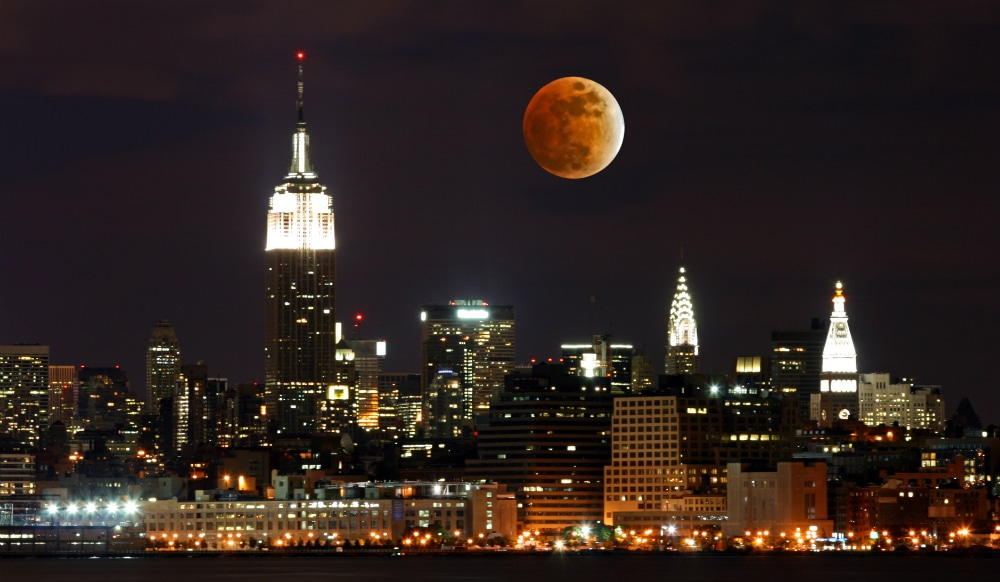 See The First Supermoon (And Snow Moon!) Of 2020 In NYC This Weekend