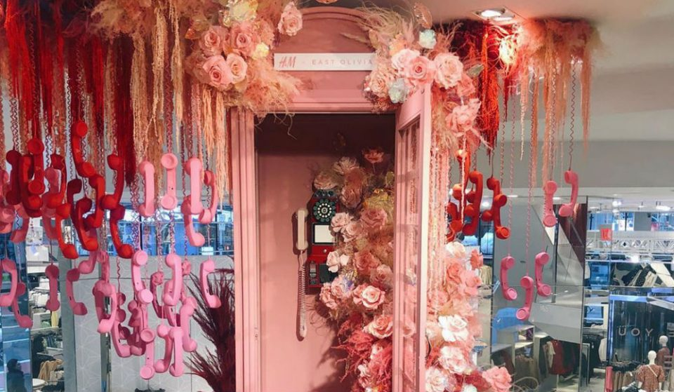 The H&M Times Square Flagship Is Showcasing Stunning Monthly Floral Exhibits From NYC Florist