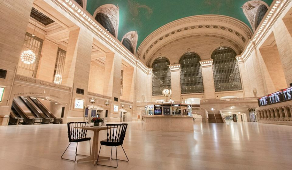 You Can Win A Magical 'Dinner Under The Stars' At Grand Central Where You'll Get The Space All To Yourself