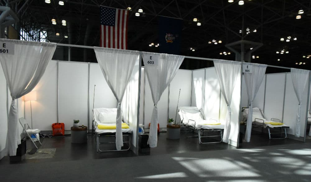 Here's What The Javits Center Looks Like After Being Transformed Into A Temporary Hospital