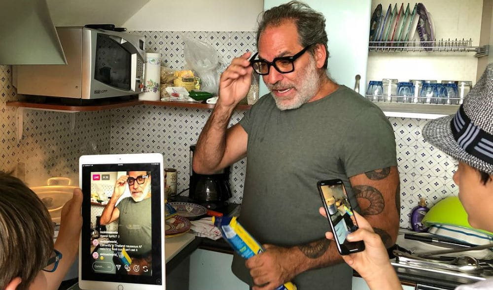 NYC's Favorite Eccentric Italian Chef Is Still Serving Up Killer Cooking Lessons On Instagram