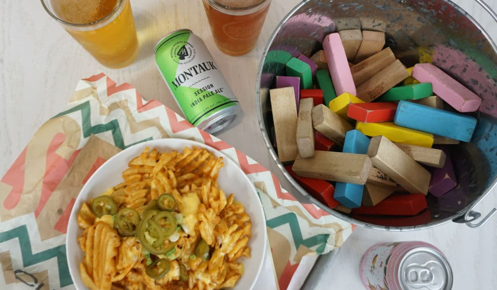 This Midtown Beer Hall Is Delivering Board Games & Toilet Paper Along With Your Food